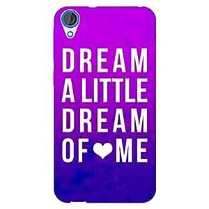 Jugaaduu Dream Love Back Cover Case For HTC Desire 820Q