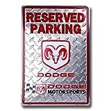Dodge Motorsports Racing Parking Sign ~ Smart Blonde