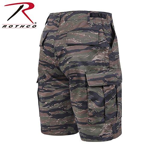 BDU SHORT POLY/COTTON - TIGER STRIPE CAMO, XL Tiger Stripe Camouflage Shorts