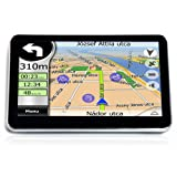 "E-PRANCE HD 5"" Car GPS Navigator+Bluetooth+AV-IN+FM+free 4GB Card WIN CE 6.0"