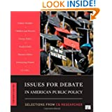 Issues for Debate in American Public Policy 13th Edition