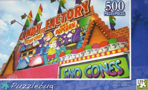 Candy Factory - Puzzlebug -500 Pc Jigsaw Puzzle