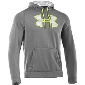Sweat à capuche gros logo imprimé Under Armour 2014 pour homme AF Storm 3XL Gris