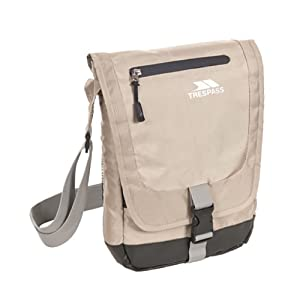 Trespass  Strapper Shoulder Bag - Sandy, 2.5 Litres