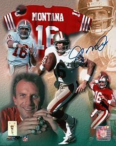 Joe Montana Signed 8X10 Photo Autograph SF 49ers Collage Auto Hologram by Joe Montana