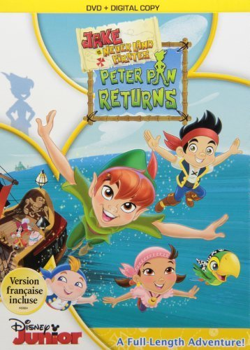 Jake & the Never Land Pirates: Peter Pan Returns by Walt Disney Studios Home Entertainment (Peter Pan And The Pirates Dvd compare prices)