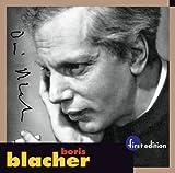 Orchestervariationen Ueber Ein Thema Von Paganini Blacher