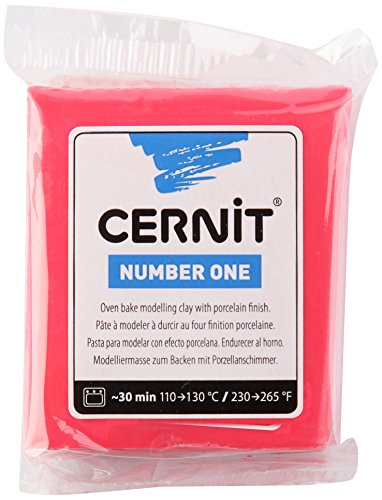 Cernit Modelliermasse Backofen Number One Rot 56 g