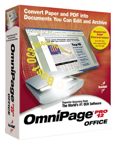Omnipage Pro 12 Office Edition