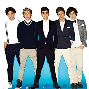 Ag1d2 One Direction Cardboard Cutout Standee Standup by MovieCutouts.com