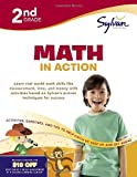 img - for Second Grade Math in Action (Sylvan Workbooks) (Math Workbooks) book / textbook / text book