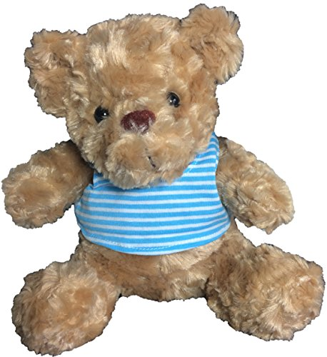 "Cute Teddy Bear Toy Doll Gift with Cozy Soft Plush Stuffed 12"" - BEIGE by Huddle Cuddle"