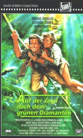 Auf der Jagd nach dem grünen Diamanten [VHS]