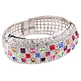 BL-020271C1 Alloy European And American Style Inlaid Crystal Women's Bracelet