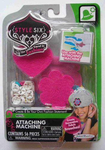 Style Six Attaching Machine Refill - 1