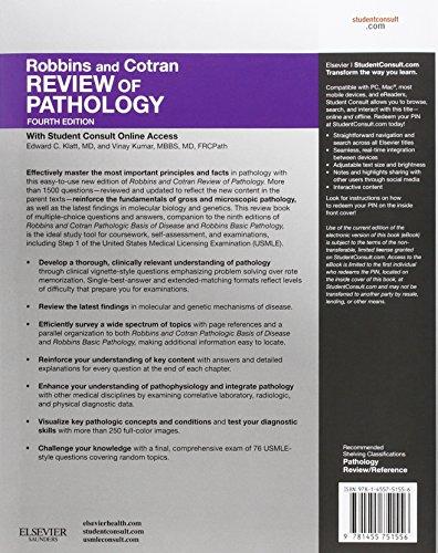 Robbins and Cotran Review of Pathology, 4e (Robbins Pathology)