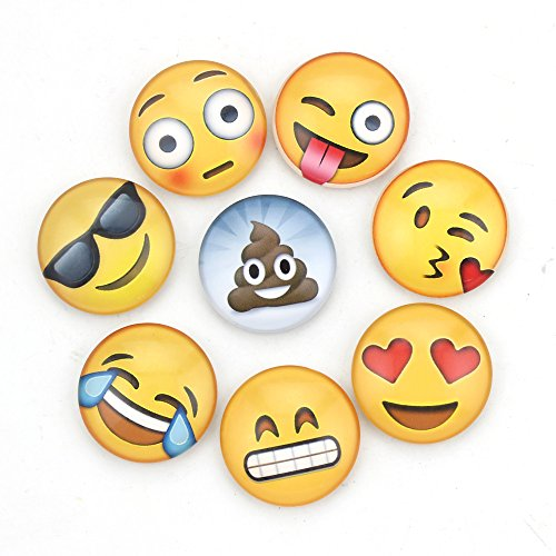 Zicome Emoji Fridge Magnets set of 8 (Emoji Fridge Magnets compare prices)