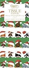 Entertaining with Caspari Tissue Paper Christmas Peek a Boo 4-Sheets