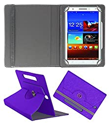 Acm Designer Rotating Case For Byond P3 Stand Cover Purple