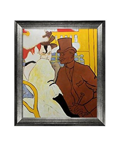 Henri De Toulouse-Lautrec The Englishman Framed Hand-Painted Oil Reproduction