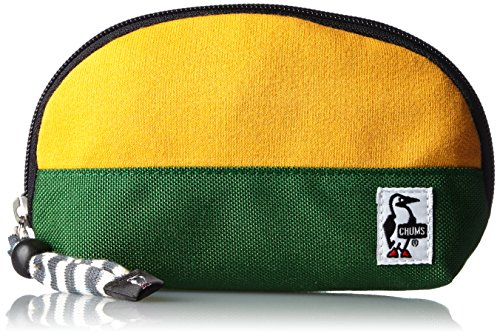 [チャムス] CHUMS ポーチ Shell Pouch Sweat Nylon CH60-0692 Y026 (Yellow/Green)