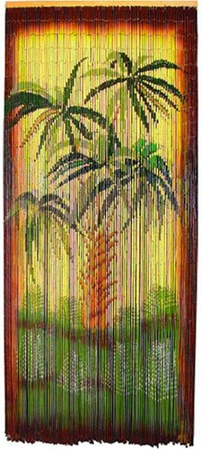 Asli Arts Model BCUPB917 Botanical Palm Painted Bamboo Curtain - Buy Asli Arts Model BCUPB917 Botanical Palm Painted Bamboo Curtain - Purchase Asli Arts Model BCUPB917 Botanical Palm Painted Bamboo Curtain (Asli Arts, Home & Garden,Categories,Patio Lawn & Garden,Outdoor Decor)