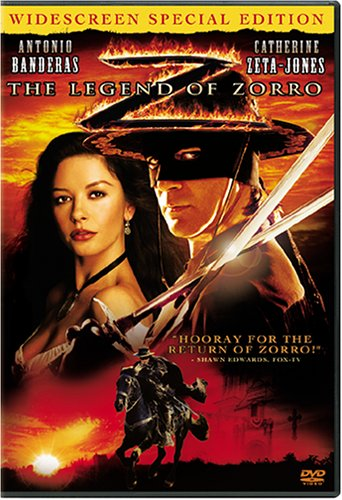 Cover art for  The Legend of Zorro (Widescreen Special Edition)