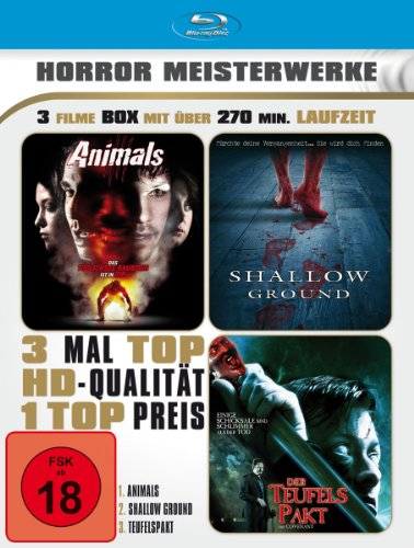 Horror Meisterwerke - 3 Filme Box [Blu-ray]