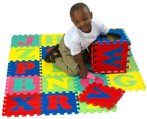 Cheap Kids Touch 10 Inch Foam Alphabet Puzzle Mat 26pcs (B00005QYY1)