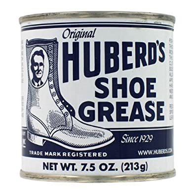Huberds HSG Shoe Grease 7.5 Oz Shoe Grease