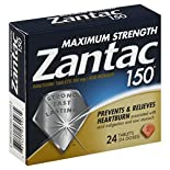 Zantac 150 Ranitidine, Maximum Strength, 150 mg, Tablets, 24 tablets