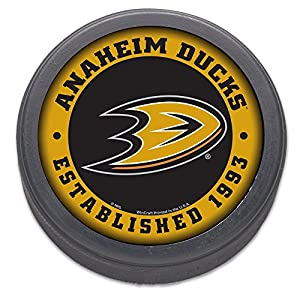 Anaheim Ducks Collectors Puck with Display Case