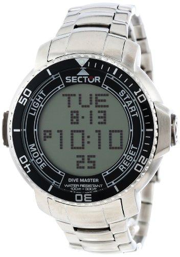 Sector Men'S R3253967001 Dive Master Analog-Digital Watch