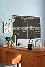 Wallies Peel and Stick Chalkboard She…