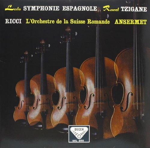 Lalo-Symphonie Espagnole/Ravel: Tzigane [12 inch Analog]