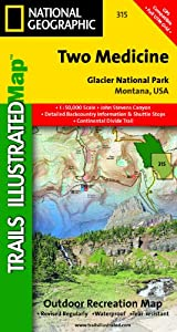 TI Map #315- Two Medicine, Glacier National Park