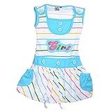 Koolkids Baby Girls' Dress (Turquoise)
