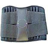 Medium : Adjustable Back Brace W/Removable Pad Support Belt For Treatment Of Sciatica, Scoliosis, Herniated Disc...