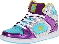 DC Union High SE Skate Shoe (Little Kid/Big Kid),Purple Wine/Lagoon,5.5 M US Big Kid