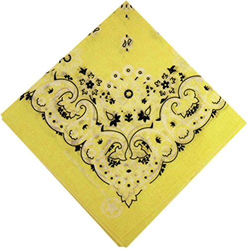 fabfive-hav-usb-a-hank-original-made-in-usa-bandana-yellow-unisex-adulto-giallo