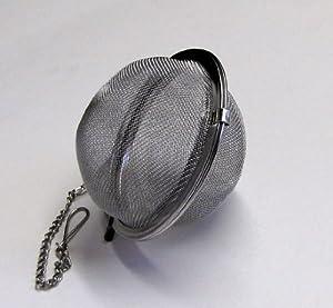 Stainless Steel Mesh Tea Ball, Tea Strainer, Tea Infuser, 2½ by ChefLand
