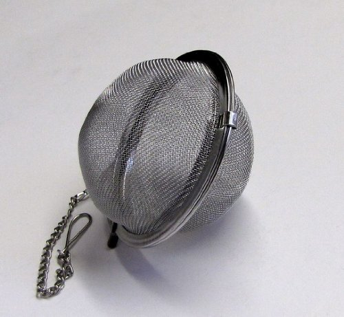 "Stainless Steel Mesh Tea Ball, Tea Strainer, Tea Infuser, 2½"""
