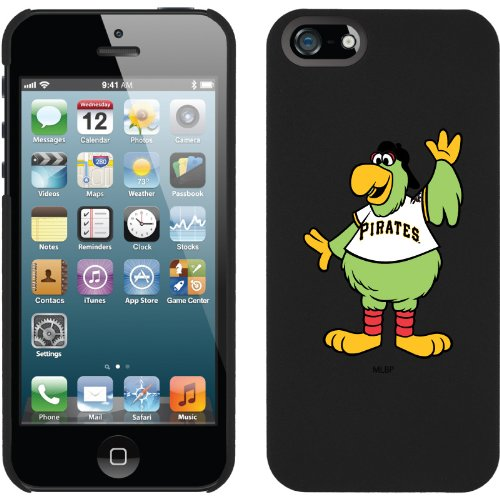 Great Sale Pittsburgh Pirates - Mascot design on a Black iPhone 5 Thinshield Snap-On Case by Coveroo
