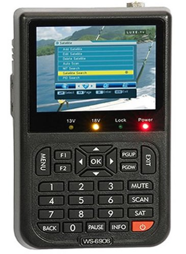 New Dreamland(TM) Satlink WS-6906 3.5 – Inch Screen DVB-S FTA Digital Satellite Finder Meter