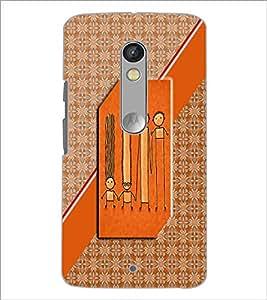 Printdhaba Cartoon D-2914 Back Case Cover For Motorola Moto X Play