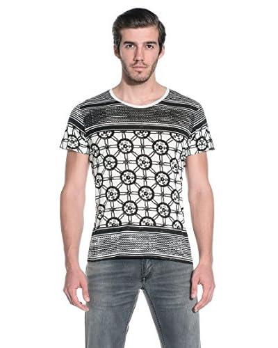 RICHMOND Camiseta Manga Corta Negro / Blanco