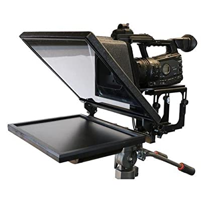 """Telmax G2 17"""" Teleprompter with 14""""x16"""" Mirror and AVM Sled System, ZaPrompt Pro Software"""