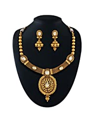 Fabulous Gold Plated Kundan Set
