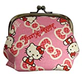 Hello Kitty Girl's Cute Coin Purse Made in Japan Pink