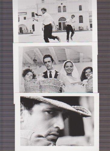 映画スチール 「予告された殺人の記録」白黒5枚